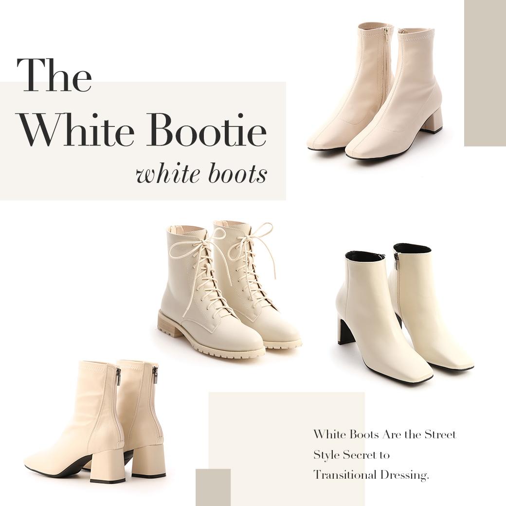 D+AF 小白靴時髦又百搭