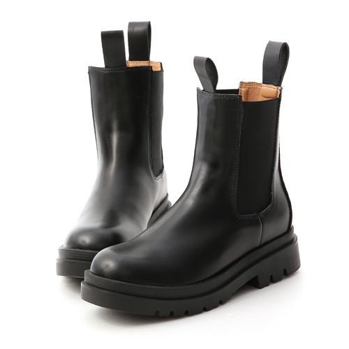 D+AF 獨領風潮.加厚鞋底切爾西短靴 黑色切爾西靴推薦