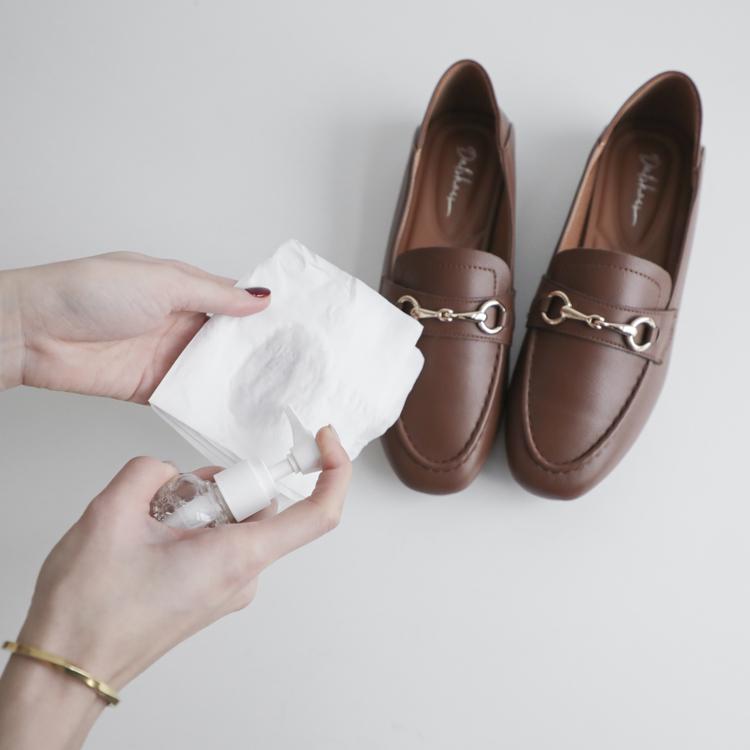 D+AF 皮革PU鞋子發霉怎麼辦? 發霉處理教學 皮革面料 清潔 消毒