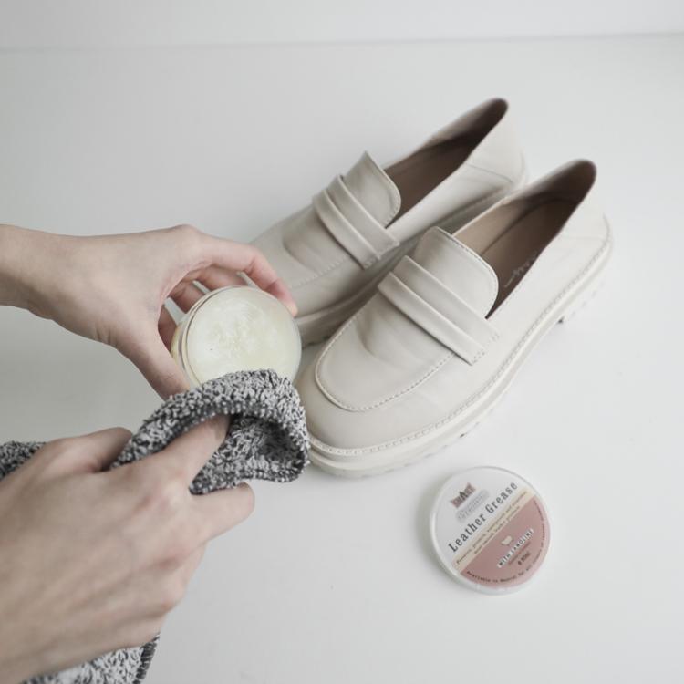 D+AF 樂福鞋發霉處理教學 鞋乳保養 鞋蠟保養