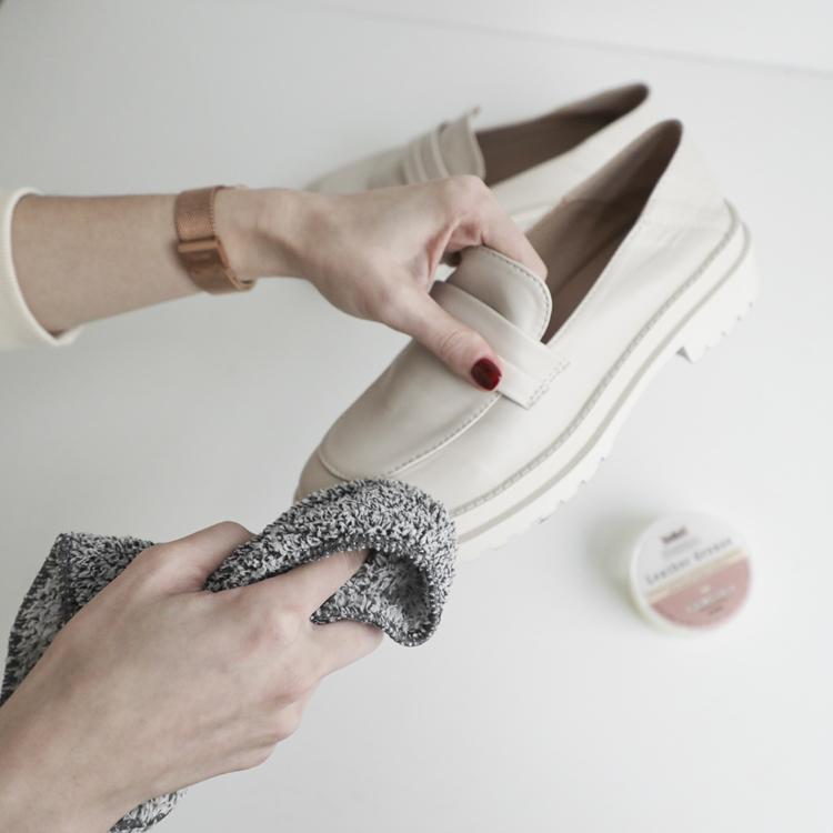 D+AF 發霉處理教學 鞋乳保養 鞋蠟保養擦拭
