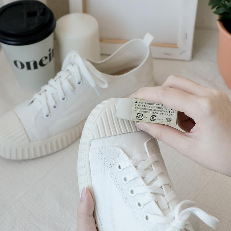 布鞋子發霉怎麼辦 帆布鞋發霉處理教學 橡皮擦 鞋子除黴