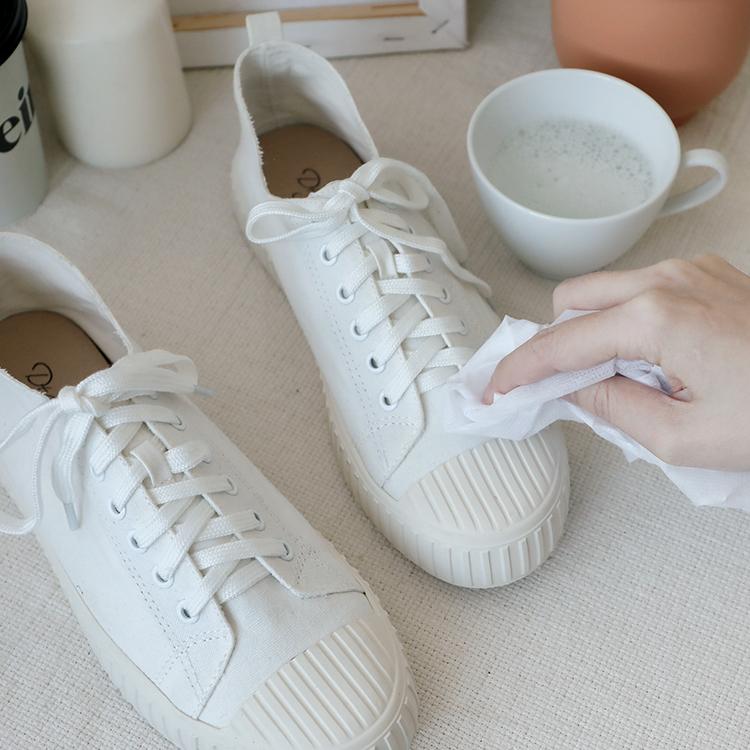 布鞋子發霉怎麼辦 帆布鞋發霉處理教學 肥皂水鞋子除黴