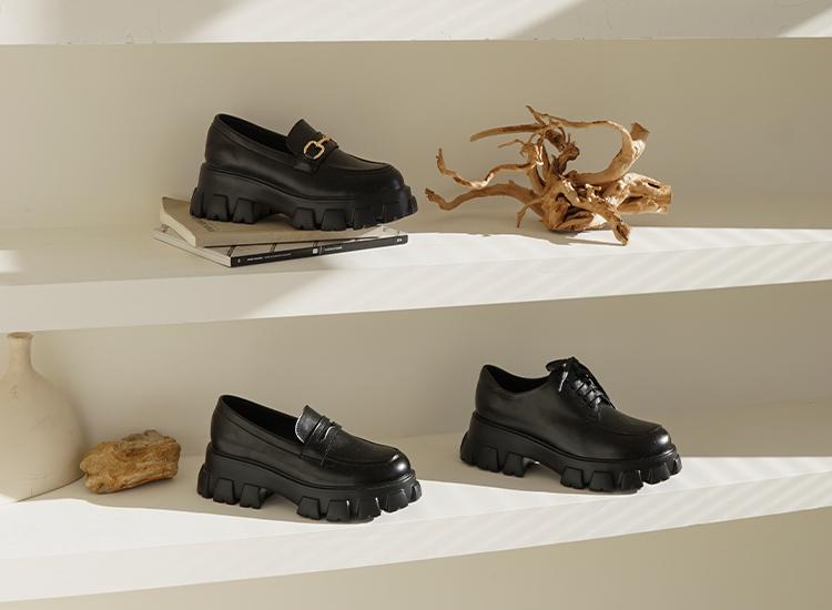 D+AF 鬆糕鞋  鬆糕鞋推薦 厚底鬆糕鞋