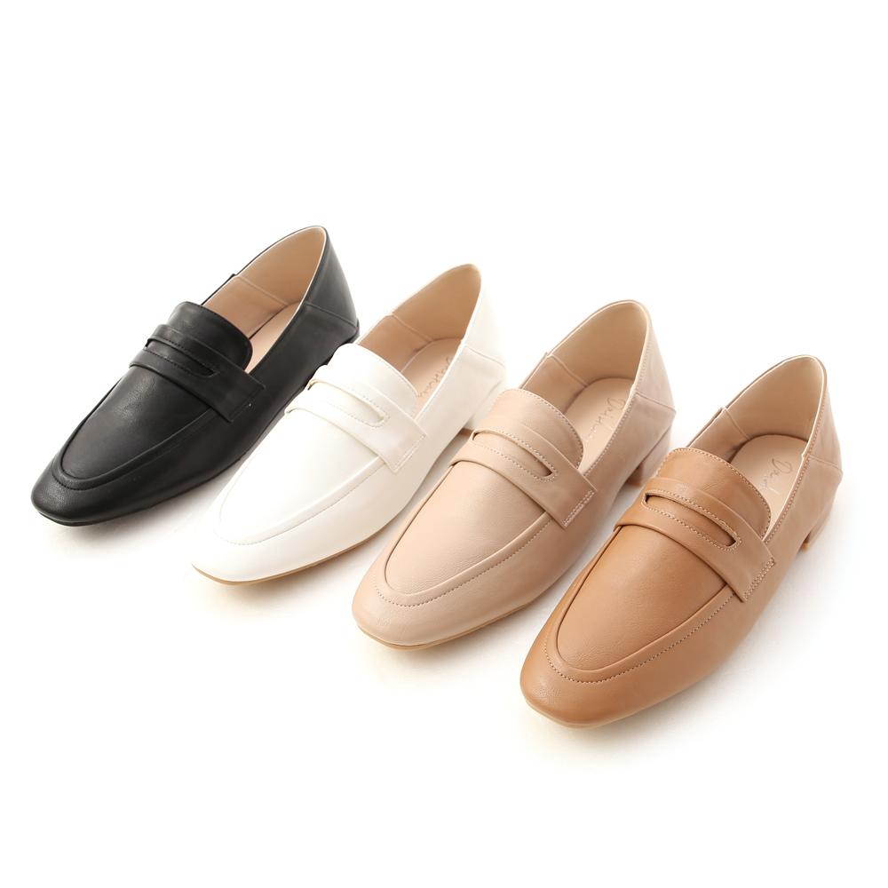 D+AF經典款可後踩樂福鞋 兩穿樂福鞋推薦