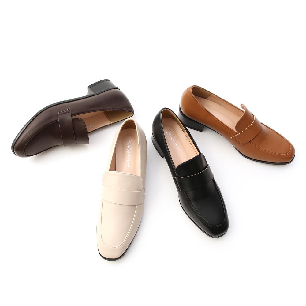 D+AF經典款低跟樂福鞋 樂福鞋 穿搭