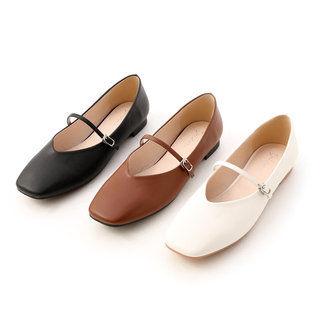 D+AF精緻細帶V口瑪莉珍鞋 早春流行瑪莉珍鞋推薦