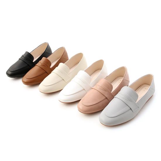 D+AF 樂福鞋穿搭美學 超軟Q經典款樂福鞋 舒服日常