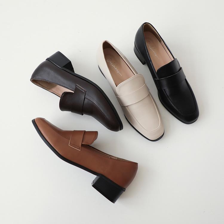 D+AF 樂福鞋穿搭美學 經典款低跟樂福鞋 小隻女樂福鞋穿搭
