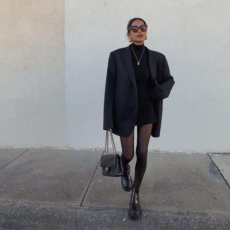 黑色樂福鞋穿搭 女 樂福鞋女品牌推薦