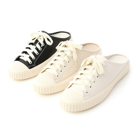 悠閒時刻.綁帶後空穆勒餅乾鞋 休閒穆勒鞋 奶茶色 黑色 白色