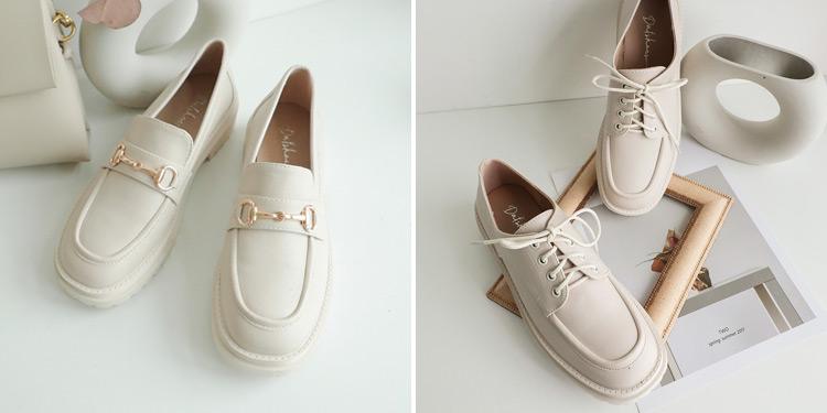 D+AF 2021小白鞋推薦鞋款 鬆糕底小白鞋 復刻經典 純真年代