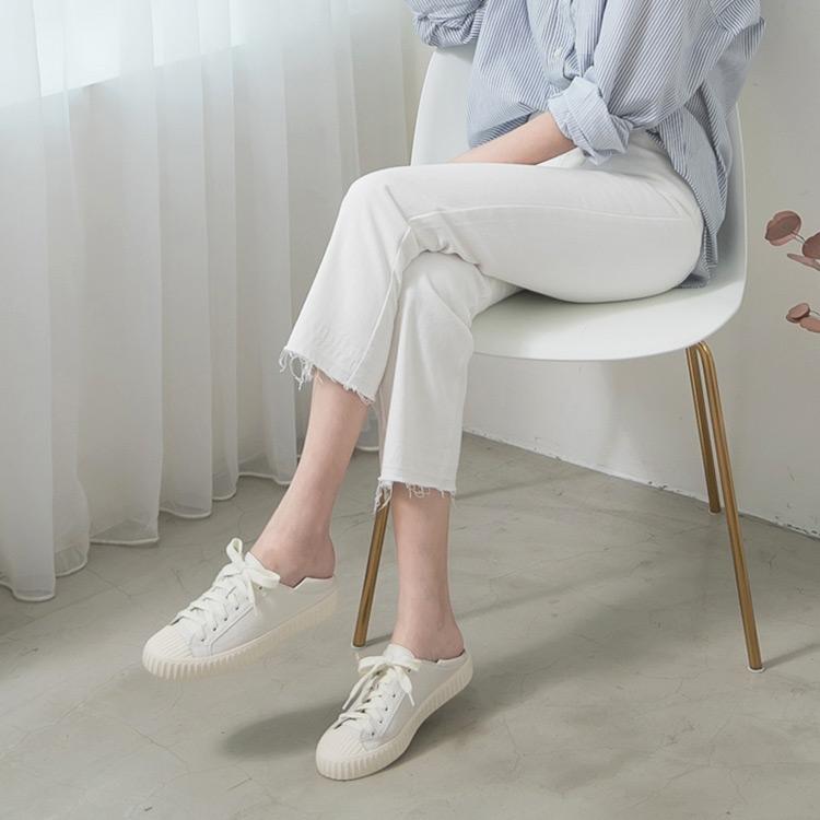 D+AF 2021小白鞋推薦鞋款 休閒小白鞋 舒服漫步