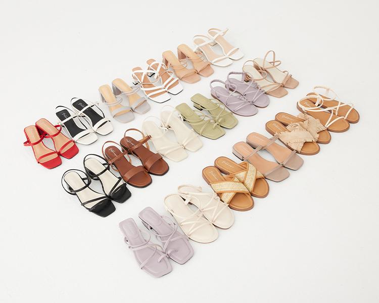 D+AF2021春夏必備涼鞋推薦 涼鞋