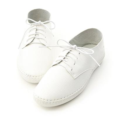 拇指外翻小白鞋推薦 超軟縫線底可後踩小白鞋
