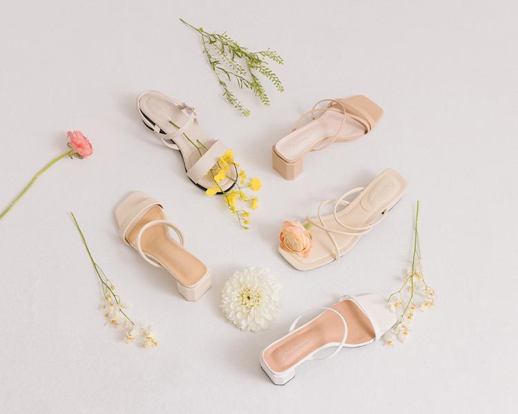 D+AF小編穿搭 2021夏日鞋子穿搭 涼鞋搭配