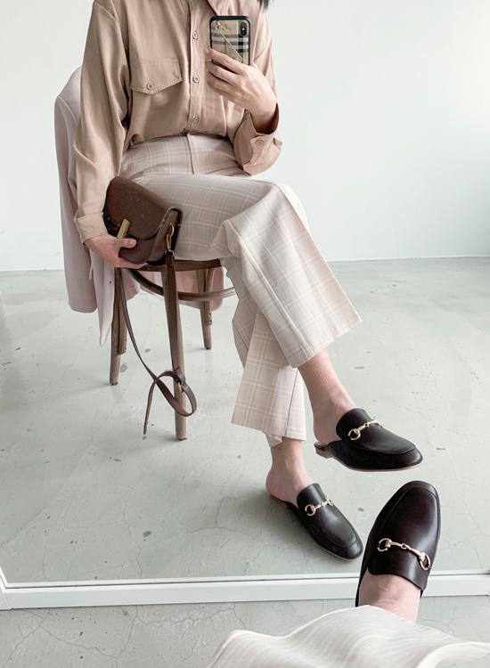 WFH居家辦公(在家工作)穿搭鞋款推薦 小編實拍黑色穆勒鞋搭配