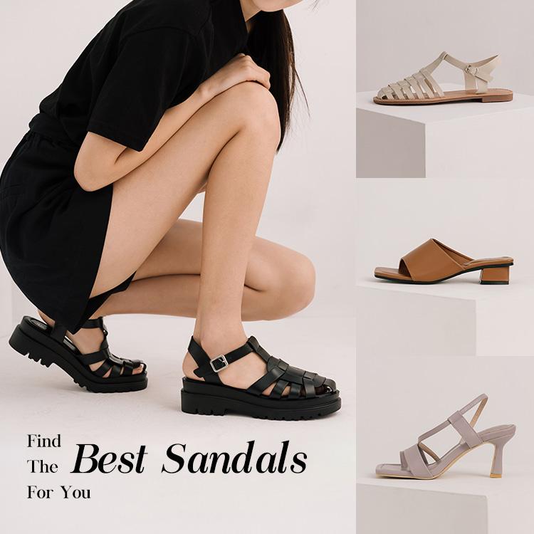 D+AF各種腳型適合的涼鞋 寬腳板、肉肉腳、羅馬腳、拇指外翻、腳踝粗涼鞋推薦