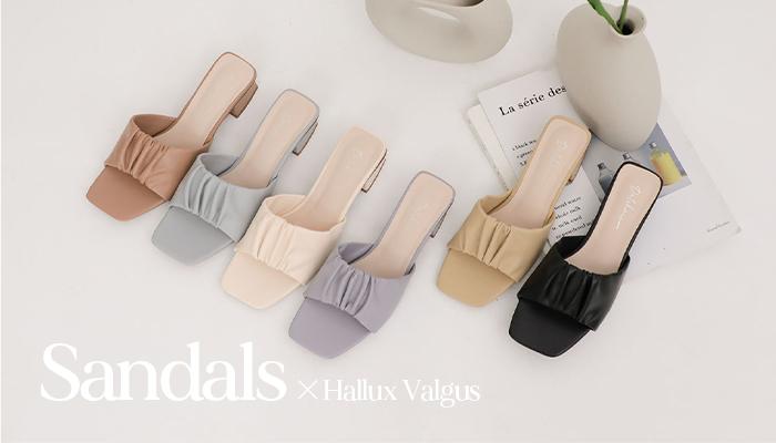 拇指外翻涼鞋特輯 選對也能穿出時尚感