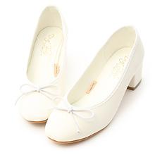 D+AF 小蝴蝶中跟芭蕾娃娃鞋