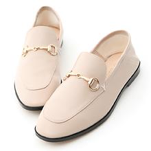 D+AF 馬銜釦後踩式二穿紳士便鞋
